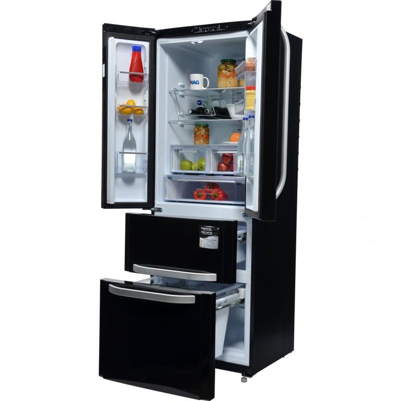 Combin r frig rateur cong lateur 4 portes 470 l espace decormat - Congelateur hotpoint ariston ...