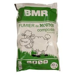 Compost de fumier de mouton