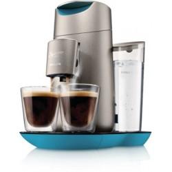 Machine à café Senseo Twist Argent Indigo