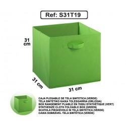Casier en toile synthétique - Vert