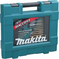 Makita Coffret accessoires 104 pièces