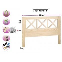 Tête de lit en pin massif - INFINITI-4